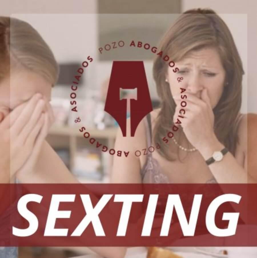 en que consiste el delito de sexting